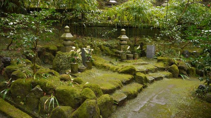 東慶寺 駆け出し女と駆け込み男 舞台 鎌倉 墓地