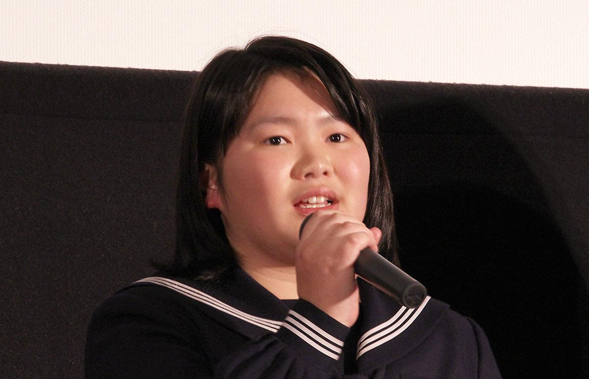 ソロモンの偽証 舞台挨拶 松子 富田望生