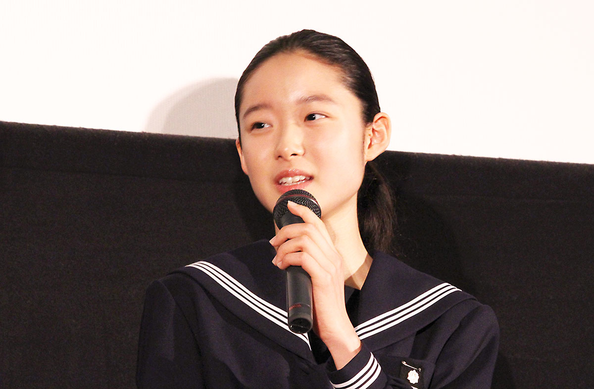 ソロモンの偽証 舞台挨拶 主役 藤野涼子