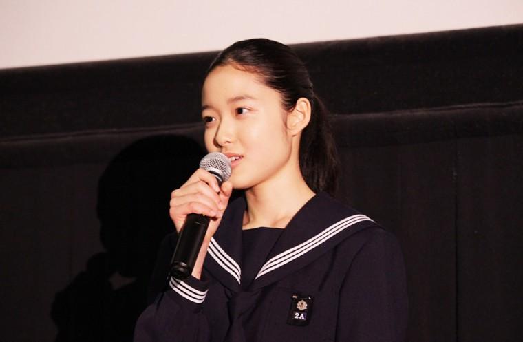 ソロモンの偽証 後篇・裁判 舞台挨拶 藤野涼子