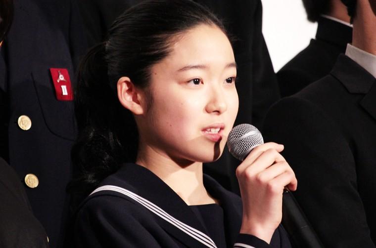 ソロモンの偽証 後篇・裁判 初日舞台挨拶 藤野涼子