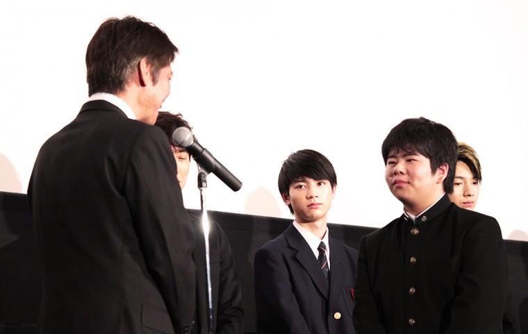 ソロモンの偽証 後篇・裁判 初日舞台挨拶 卒業証書 前田航基