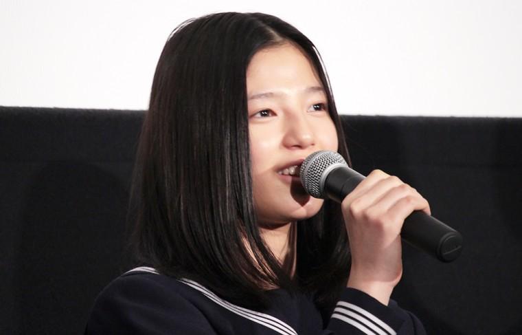 ソロモンの偽証 後篇・裁判 初日舞台挨拶 石井杏奈