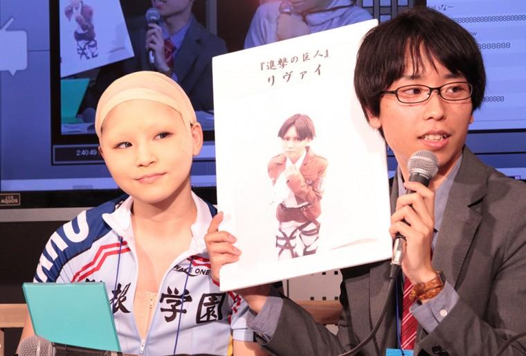 BTUアニメラボ 松竹 コスプレメイク ニコニコ超会議2015 小林ヒロユキ
