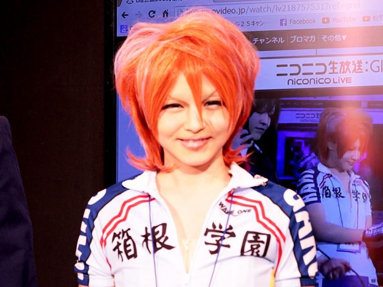 BTUアニメラボ 松竹 コスプレメイク ニコニコ超会議2015 ばったもん河合