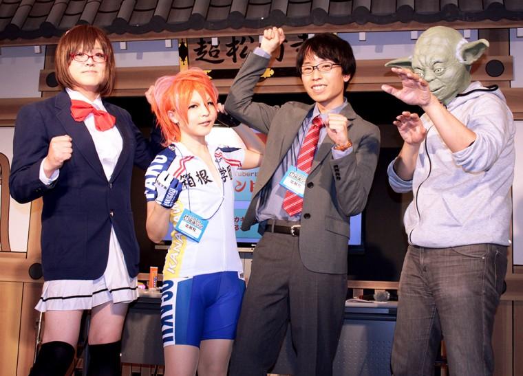 BTUアニメラボ 松竹 コスプレメイク ニコニコ超会議2015