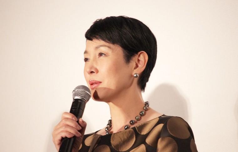 愛を積むひと 完成披露試写会 舞台挨拶 樋口可南子