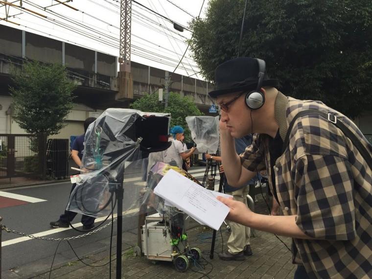 演出中の中田圭監督