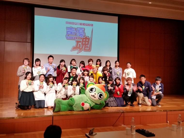 審査終了後、山口勝平さんや大崎一番太郎たちとともに