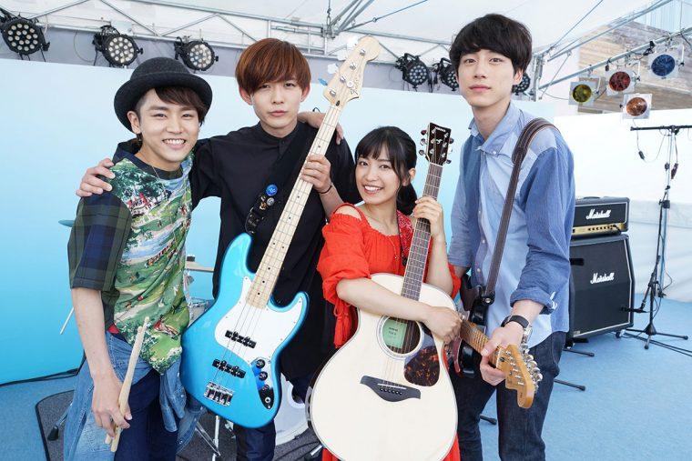 The STROBOSCORP miwa 坂口健太郎 君と100回目の恋 バンド ストロボスコープ
