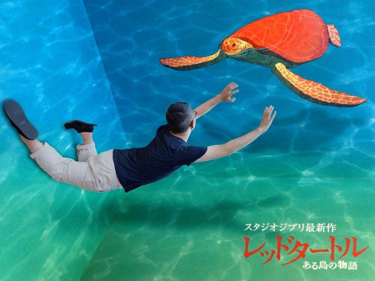 レッドタートル ある島の物語 ウミガメ展