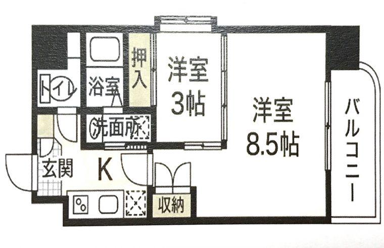 広島 段原 市内 家賃 人気