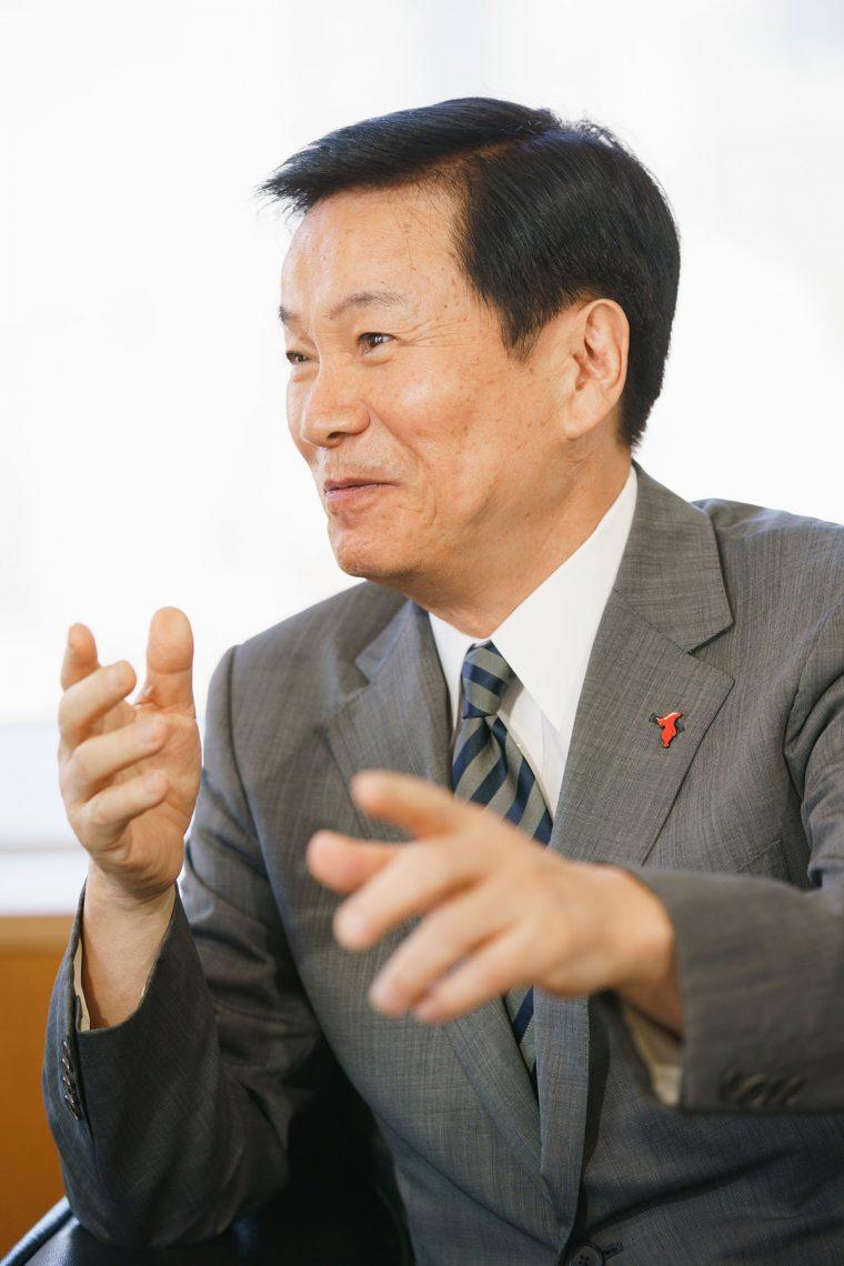 砂の器 森田健作 大谷信義会長 対談2