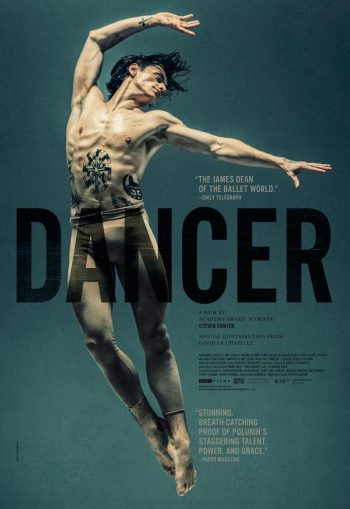 ダンサー、セルゲイ・ポルーニン 世界一優雅な野獣 ポスタービジュアル 海外版